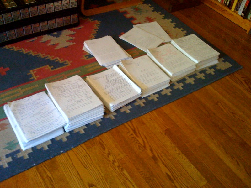 Clarion 2010 Manuscripts